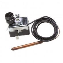 Termostato Di Sicurezza A Riarmo Manuale - Regolazione Temperatura 90-110°C, Lunghezza Capillare 1,5Mt.   14704001