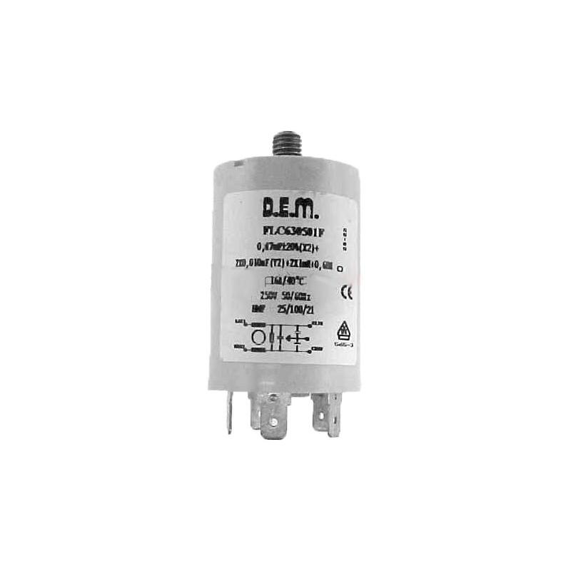 Filtro Antidisturbo Lavatrici REX ELECTROLUX - 53044681210