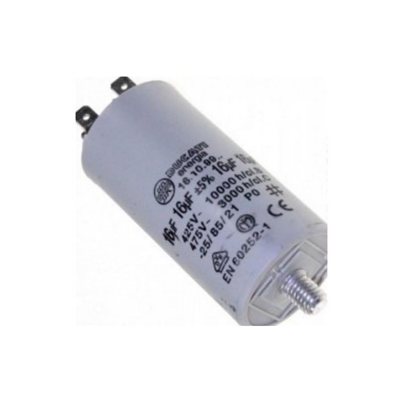 Condensatore 16 Mf Lavatrici HOTPOINT - ARISTON - C00013582
