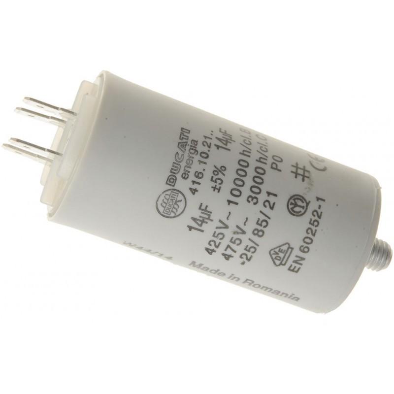 Condensatore 14Uf 8 Micron Lavatrici HOTPOINT - ARISTON - C00019740