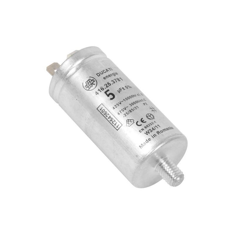 Condensatore,Motore Ventilator Asciugatrice AEG, REX ELECTROLUX - 1125427003