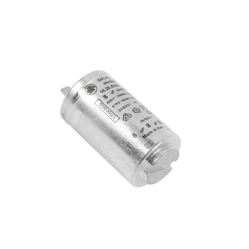 Condensatore 8Uf Asciugatrice AEG, REX ELECTROLUX, ZOPPAS - 1250020334