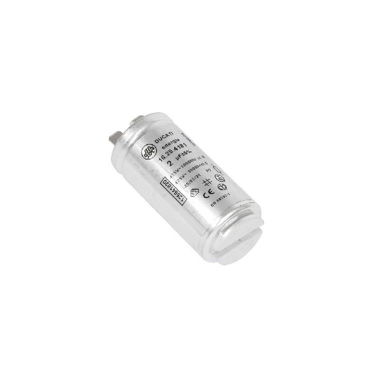 Condensatore Di Avviamento 2Uf Asciugatrice AEG, REX ELECTROLUX - 1256418201
