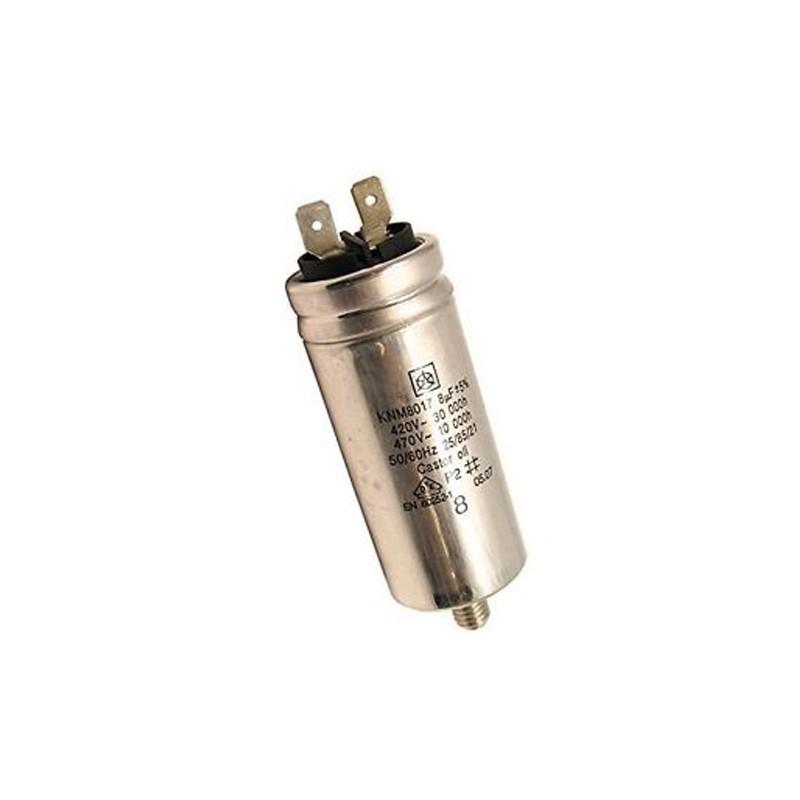 Condensatore 8Uf (Iskra) Asciugatrice INDESIT - C00194453