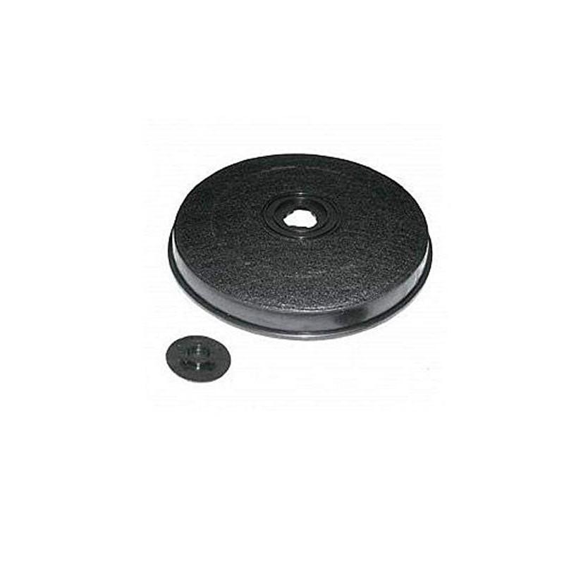 Filtro ai carboni attivi per cappa 230 x 30 mm MOD Faber carbone diametro 23 cm