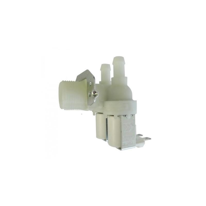 Elettrovalvola Di Carico, 2 Uscite A 90° Lavatrici IGNIS, WHIRLPOOL - 481227118086