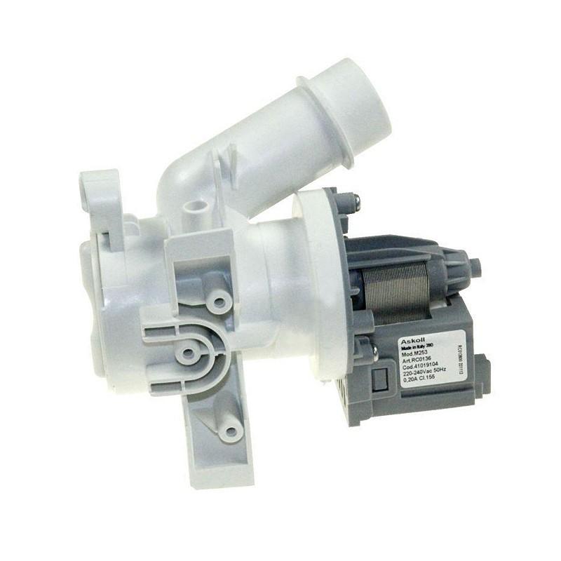 Pompa Scarico Ricircolo Completa Lavatrici CANDY, HOOVER, ZEROWATT - 41042258